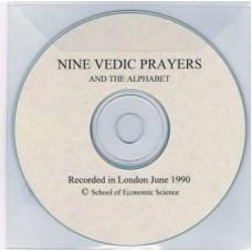 Nine Vedic Prayers and the Alphabet